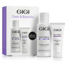 GIGI NUTRI-PEPTIDE Clean and Beautiful / Дорожный набор для идеально чистой кожи